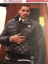 Kappa NWT Mens M Winter Jacket Parka Hood Black Padded Warm  Quilted Outdoor