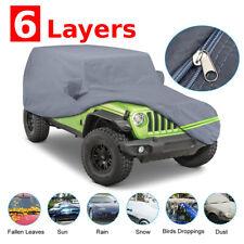 Car Rain Sunshade Uv Protection Cover For 2007 2021 Jeep Wrangler Jk Jl 4 Door Fits Jeep