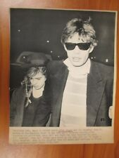 Vtg Wire AP Photo Mick & Daughter Jade Jagger Rolling Stones Westbury Hotel