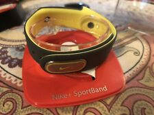 Nike + Sportband (Band and Sensor) in Anthracite/voltage yellow-  For Parts