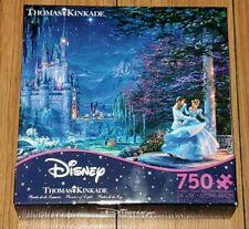 Ceaco Thomas Kinkade Disney Cinderella Dancing Starlight 750 Pcs Jigsaw Puzzle