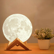 3D Moon Lamp USB LED Night Light Touch Sensor Color Changing Moonlight Lamp 15cm