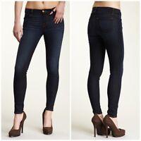 $198 J Brand 620 Mid Rise Super Skinny Leg Stretch Jeans Roxbury Sz 24 24x29 ✦k