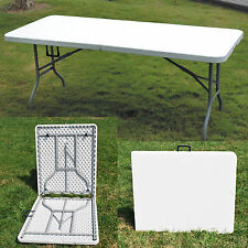 New Heavy Duty table pliante 6 ft (environ 1.83 m) Camping Picnic Banquet Fête Jardin TABLEAUX 6 ft (environ 1.83 m)