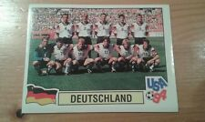 N°181 TEAM EQUIPE ELFTAL # DEUTSCHLAND PANINI USA 94 WORLD CUP ORIGINAL 1994