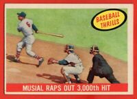 1959 Topps #470 Stan Musial GOOD+ PAPER LOSS St. Louis Cardinals FREE SHIPPING