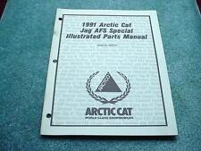 Arctic Cat 1991 Parts Manual Jag AFS Special Snowmobile OEM #276