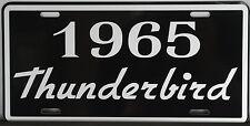 METAL LICENSE PLATE 1965 65 THUNDERBIRD T-BIRD 390 428 FORD CONVERTIBLE ROADSTER