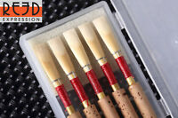 Reed Expression Quality Oboe Reeds German Style MEDIUM - 5 Pcs *