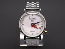 Alain Silberstein Arkitek Stainless Steel Mens Automatic Date Watch Box Papers