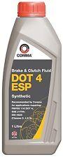 Comma 1L DOT4 Brake & Clutch Fluid 1 Litre DOT 4 ESP For Fiat Punto 2000-2017