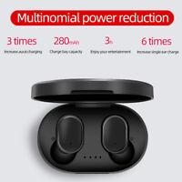 A6S TWS Mini Airdots Headset Bluetooth 5.0 Earphone Headphone Stereo Earbuds zjs