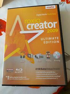 Roxio Creator 2009 Ultimate Edition - Windows Digital Media Made Easy Free P&P