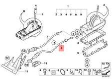 Genuine Mini Cooper R50 Mini Shift Cable - Manual Transmission (1100 mm Length)