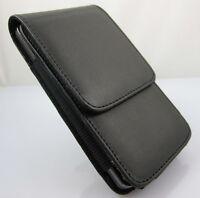 B-002 Black Flip Leather Case for Samsung Galaxy S2 II i9100