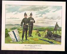 British Middlesex Victoria Rifles Giles Military Print