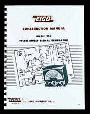 EICO 360 TV-FM Sweep Signal Generator Construction Manual