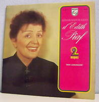 "2 x 33T Edith PIAF Disques LP 12"" GRANDS SUCCES -MON LEGIONNAIRE PHILIPS 6641141"