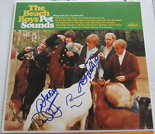THE BEACH BOYS SIGNED PET SOUNDS RECORD X4 BRIAN WILSON MIKE LOVE W/PROOF!!!!!!
