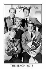 THE BEACH BOYS  AUTOGRAPH SIGNED PHOTO POSTER - GREAT PIECE OF MEMORABILIA
