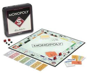 Monopoly Nostalgia Editon in Collectible Tin Vintage 1937 Classic Board Game New