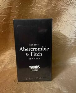 """Abercrombie & Fitch Woods Cologne 1.7 oz Cologne Spray For Men """"sealed"""""""