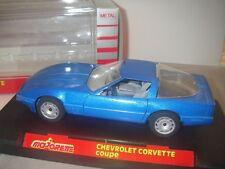 Maquette Chevrolet Corvette Coupé 1/24 - Majorette