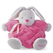 "Kaloo Plume Medium Chubby Rabbit - 10"" - Raspberry Plush"