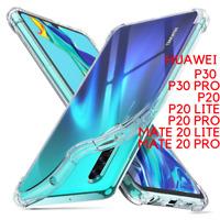 Coque TPU Souple Silicone Anti Choc pour Huawei P30 P20 MATE 20 LITE/PRO MATE 30