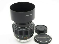 [EX+++++] Minolta MC Rokkor-PF 85mm f1.7 Good Condition Lens with Hood from JP