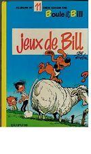 Jeux de Bill - Album Nr. 11 des Gags de Boule et Bill