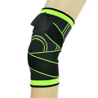 Sports Adjustable Knee Patella Sleeve Support Brace Elastic Neoprene Arthritis