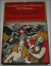 UNDER THE MOONS OF MARS by Sam Moskowitz, HB/DJ 1970 1st ED, E. R. BURROUGHS