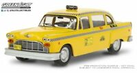 GREENLIGHT 86601 CHECKER TAXI SUNSHINE CAB CO. model from TAXI TV series 1:43
