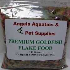 Angels Aquatics Premium Aquarium Goldfish & Pond Flake Fish Food 100g pack