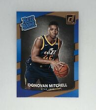 Donovan Mitchell 2017-18 Donruss Rated Rookie Card RC