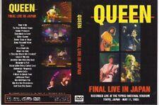 queen final live in japan dvd 1985freddie mercury led zeppelin the who