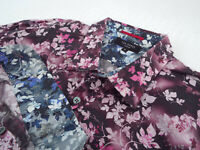 "TED BAKER Mens Shirt 🌍 Size 5 (CHEST 44"") 🌎 RRP £65-129+📮 FLORAL PRINT"