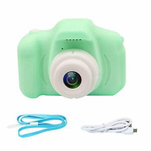 DIGITAL VIDEO CAMERA CAMCORDER HD 1080P GAME CHILDREN KIDS BITHDAY GIFT GREEN