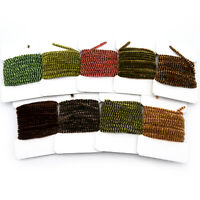 VARIEGATED CHENILLE - Hareline Fly Tying Material Stonefly Crappie Jig Fishing