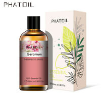 30/100ML Geranium 100% Pure Aromathérapie Huiles Essentielles Bio Avec Boite