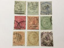 old stamps  BERMUDA   x  9