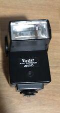 Vivitar Auto Thyristor 2800-D Camera Flash Not Tested