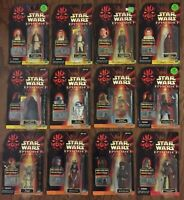 Star Wars Episode I Lot Hasbro 1998 12 Figures Yoda R2 Padme Kenobi Skywalker