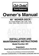 s l225 antique & vintage heavy equipment manuals for mower ebay  at cos-gaming.co