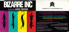 MAXI CD BIZARRE INC FEAT ANGIE BROWN I'M GONNA GET YOU 7 VERSIONS DE 1992 TBE