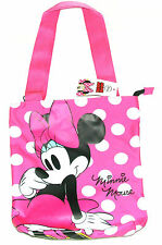 Disney Minnie Mouse Children's Shopping / Tote Bag - Shoulder Bag -Pink/White