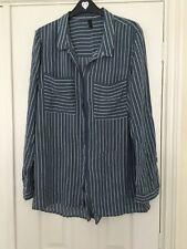 YAS Tall Striped Long Sleeved Shirt 14