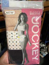 sz 6 Jockey Elance Breathe Comfort Panties Women's Underwear French Cut Tan