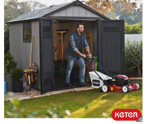 """Keter Oakland 7ft 6"""" x 9ft 4"""" (2.3 x 2.9m) Shed"""